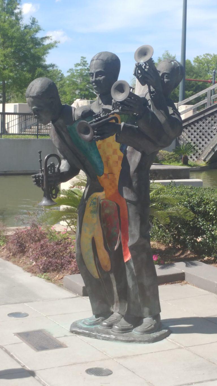 Buddy Bolden statue